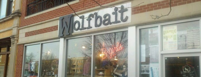 Wolfbait & B-Girls is one of Shop Local.