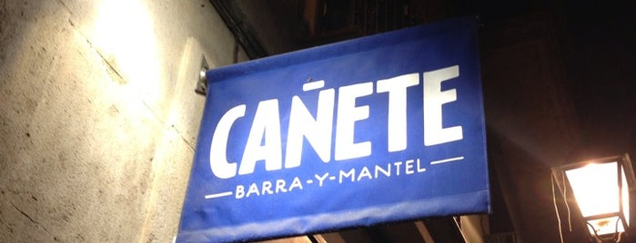 Cañete is one of Barcelona.