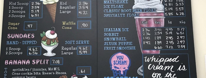 You Scream Ice Cream is one of Must-visit Food in Catonsville.