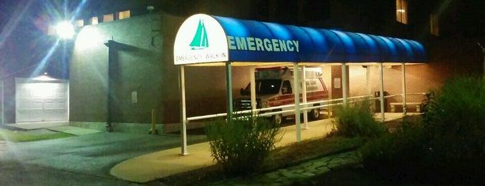 McCready Memorial Hospital is one of Favorites.