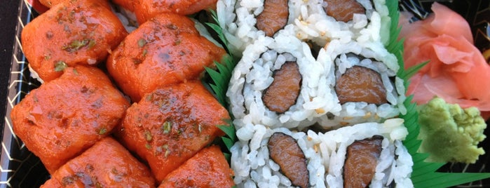 U1 Sushi is one of Little Falls hot spots.