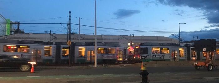 MBTA Green Line B-Boston University West Station is one of Boston MBTA Stations.