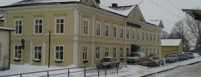 Falköping Centralstation is one of Tågstationer - Sverige.
