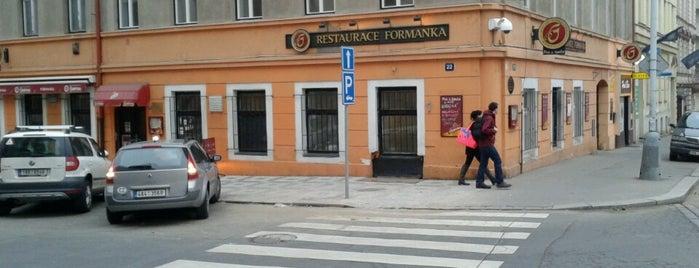 Smíchovská Formanka is one of Pivní Poutník.