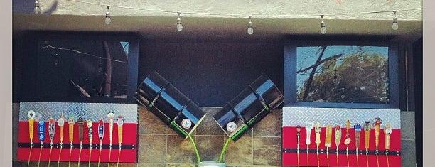 The Garage on Motor Ave is one of David & Dana's LA BAR & EATS!.