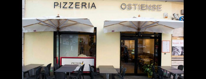 Pizzeria Ostiense is one of Rome.
