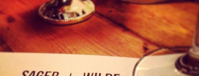 Sager + Wilde is one of London Wine Bars.