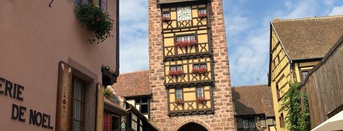 Tours d'Alsace