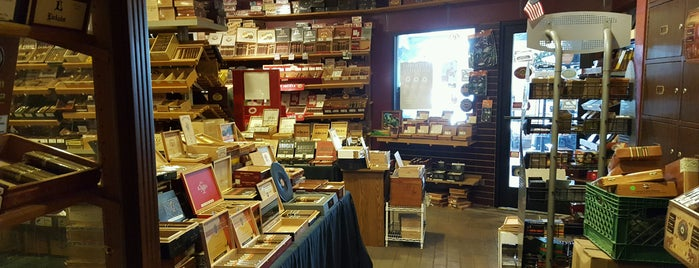Ye Old Pipe & Tobacco Shop is one of La Palina Retailers.