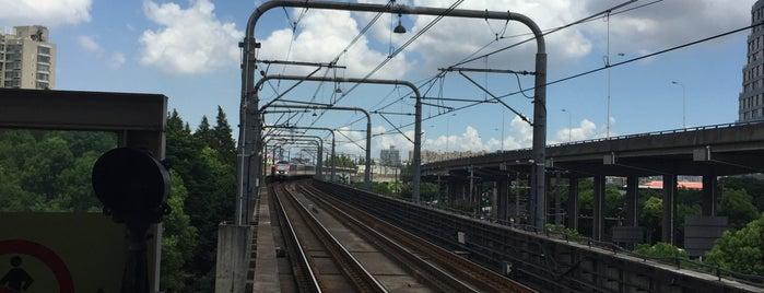 W. Yingao Rd. Metro Stn. is one of Metro Shanghai.