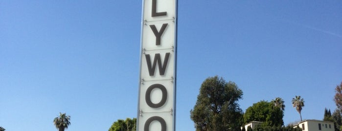 Hollywood Vertical Signpost is one of The 13 Best Sculpture Gardens in Los Angeles.