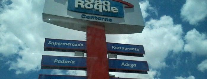 Atacadão São Roque Contorno is one of cruz das almas.