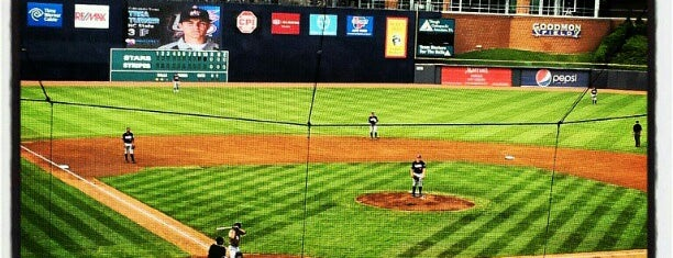 Durham Bulls Athletic Park is one of Entertainment.