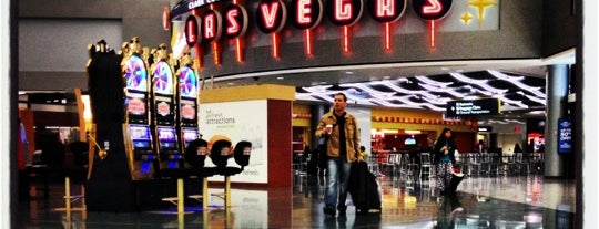 Concourse D is one of Vegas.