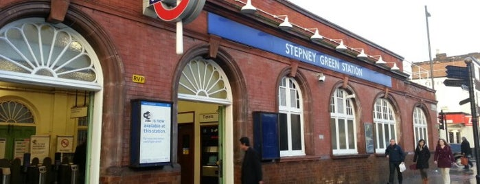 Stepney Green London Underground Station is one of District Line.