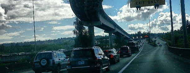 I-90 / I-405 Interchange is one of bus commute.