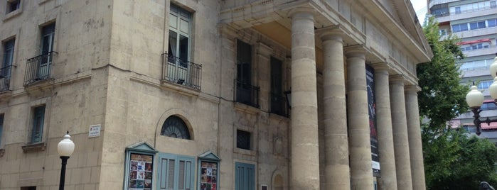 Teatro Principal de Alicante is one of Alicante urban treasures.