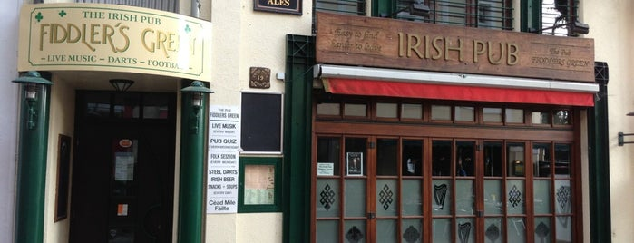 Fiddlers Green Irish Pub is one of Die 30 beliebtesten Irish Pubs in Deutschland.