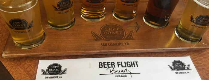 Left Coast Brewery is one of breweries.