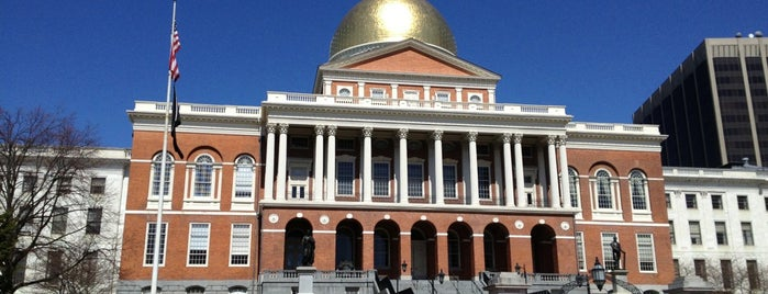 Massachusetts State House is one of Boston Hits.