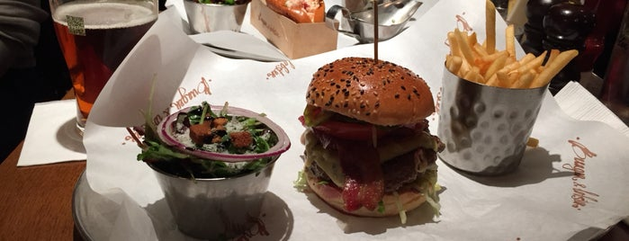Burger & Lobster is one of Бургеры в Лондоне.