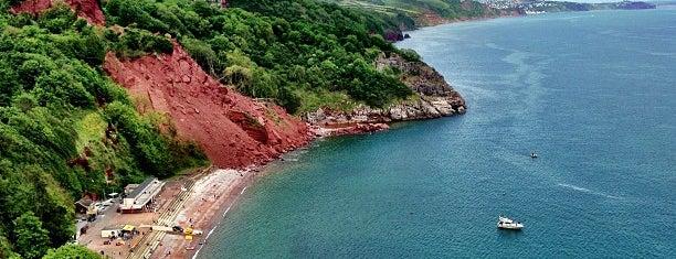 Babbacombe Beach is one of Devon.