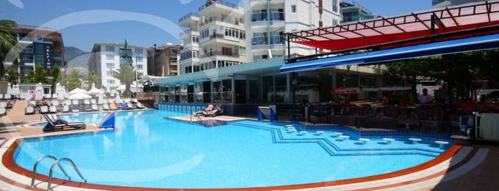smartline Sunpark Beach is one of Alanya Otelleri.