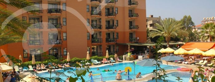 smartline Sunpark Garden is one of Alanya Otelleri.