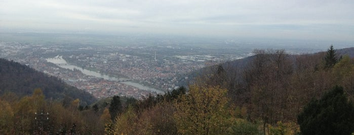 Königstuhl is one of Heidelberg/ Germany.