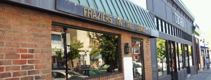 Frazier's on the Avenue is one of Pubs Breweries and Restaurants.