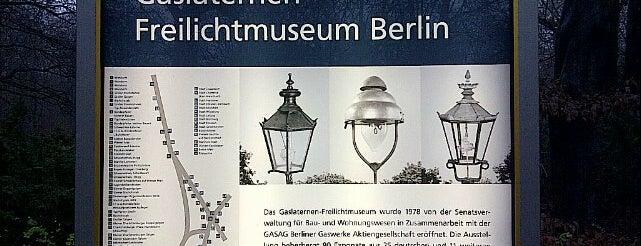Gaslaternen-Freilichtmuseum is one of Berlin for free.