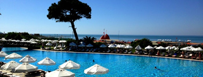 Rixos Premium Belek is one of 50 Best Swimming Pools in the World.