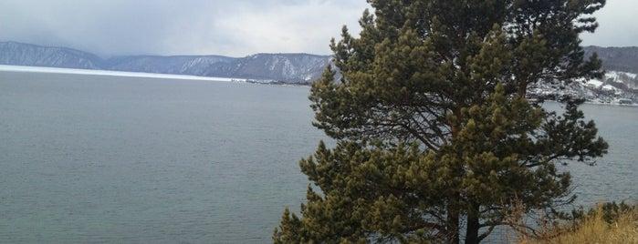 Lake Baikal is one of UNESCO World Heritage Sites.