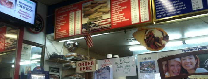 Heros Subs & Burgers is one of Favorite Food.