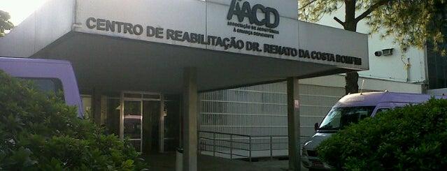 Associação de Assistência à Criança Deficiente (AACD) is one of Home.