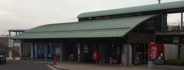 道の駅 ふれあいパークみの is one of 日帰り温泉.