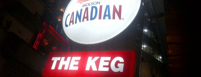 The Keg is one of Central.