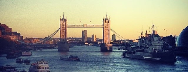 River Thames is one of London.