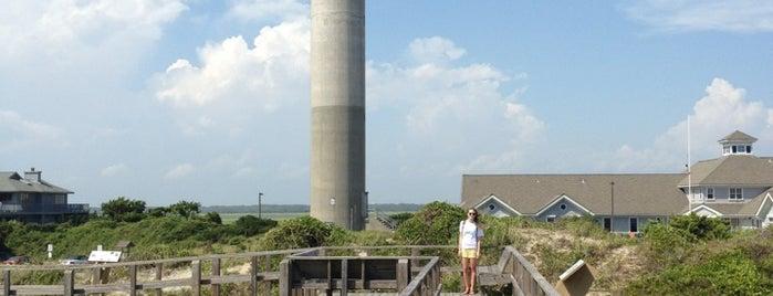 Oak Island Lighthouse is one of North Carolina.