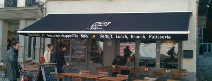 Le Pain Quotidien is one of Lunch sur le pouce à Bruxelles.
