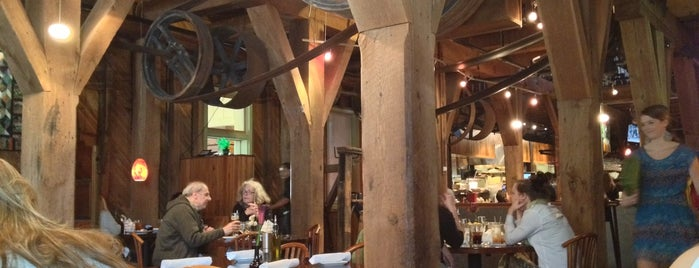 Magnolias at the Mill is one of 50 Best Restaurants 2012.