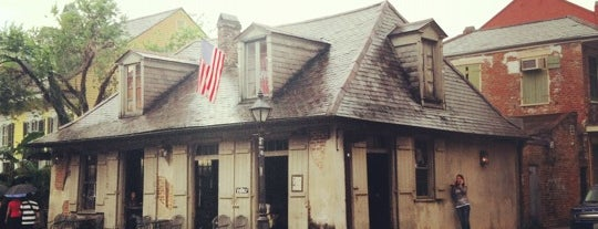 Lafitte's Blacksmith Shop is one of Paranormal Traveler.