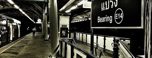 BTS Bearing (E14) is one of BTS Station - Sukhumvit Line.