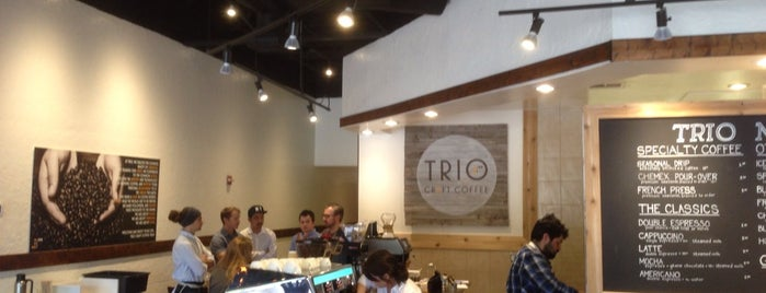 Trio Craft Coffee is one of World Coffee Places.