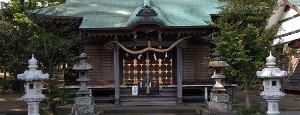 有鹿神社 is one of 海老名・綾瀬・座間・厚木.