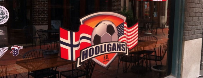 Courtyard Hooligans is one of Chelsea weekend spots.