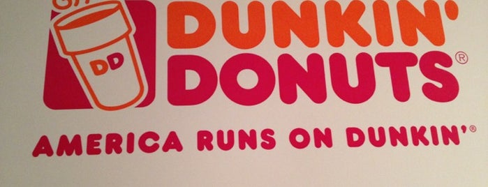 Dunkin Donuts is one of Love to go.