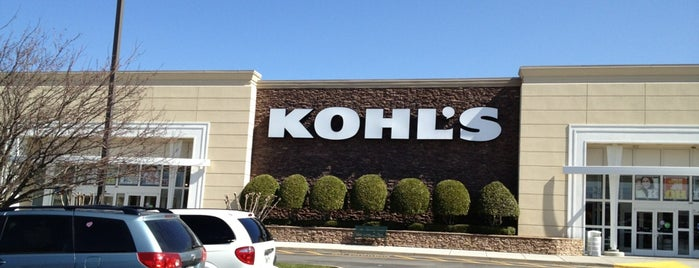 Kohl's is one of Love to go.