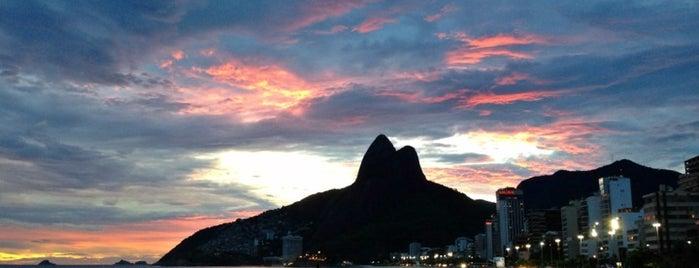 Leblon Beach is one of Rio 40¤.
