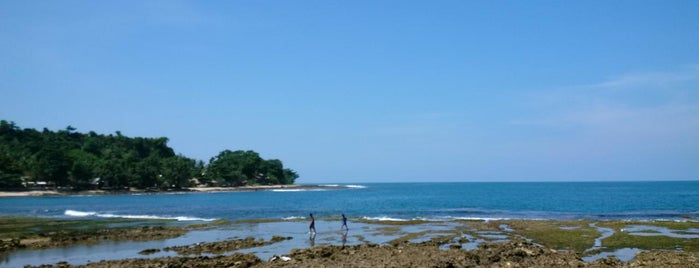 Rancabuaya Beach is one of All-time favorites in Indonesia.